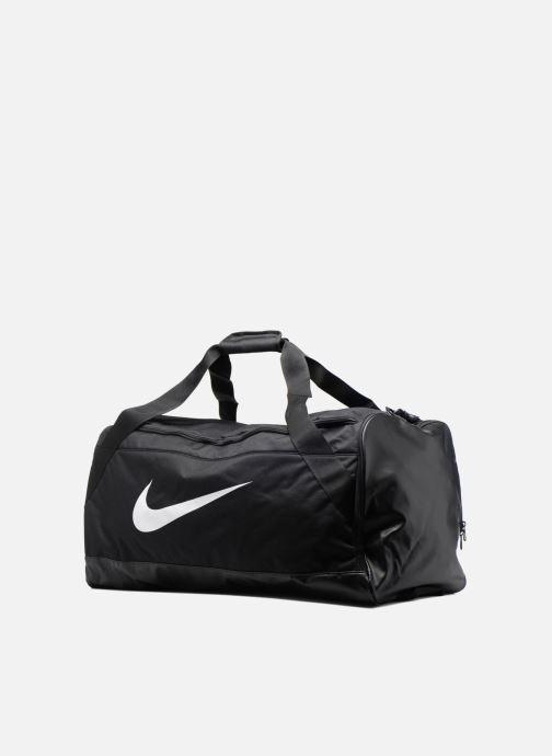 Sacs de sport Nike Nike Brasilia Training Duffel bag L Noir vue portées chaussures