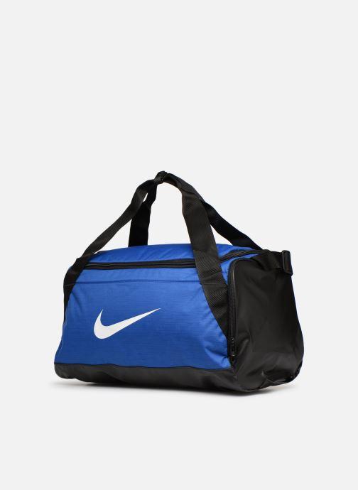 Sacs de sport Nike Nike Brasilia Training Duffel Bag S Bleu vue portées chaussures