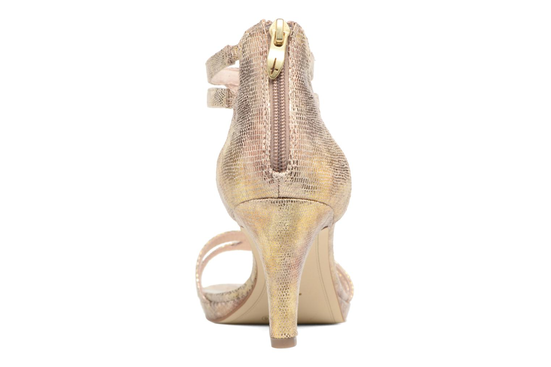 Sandali e scarpe aperte Tamaris Lepanthès Oro e bronzo immagine destra