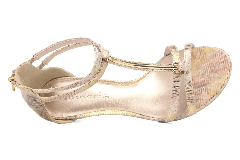 Sandali e scarpe aperte Tamaris Lepanthès Oro e bronzo immagine sinistra