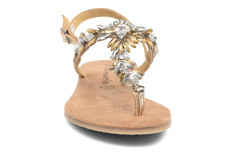 Sandals Tamaris Gardénia Bronze and Gold model view