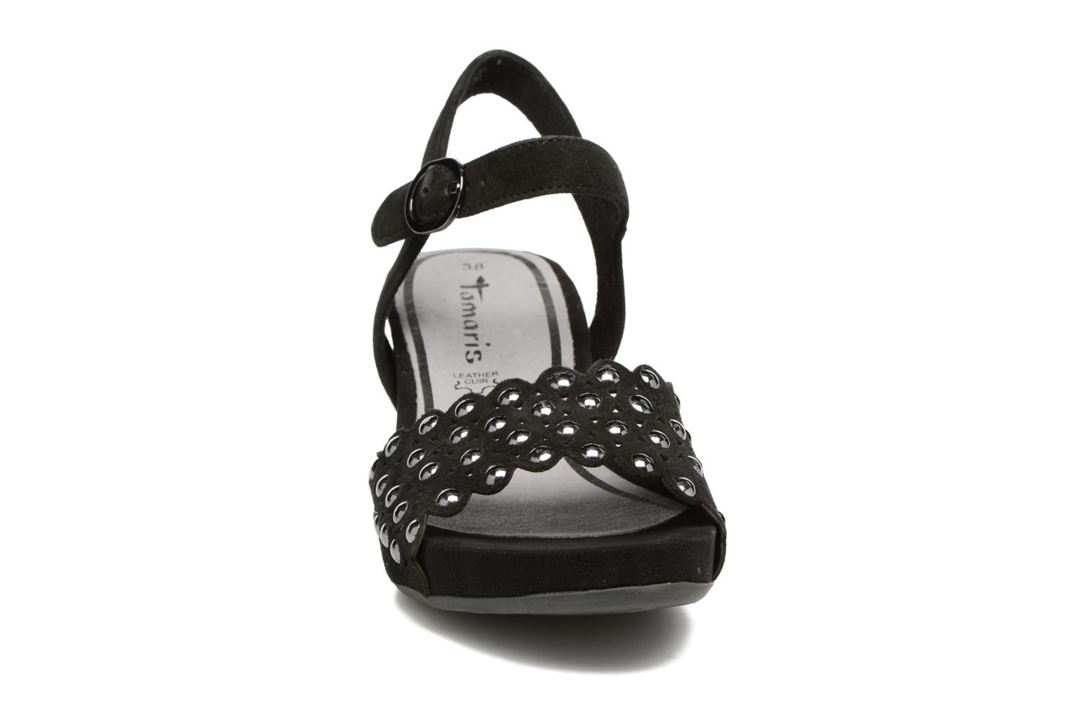 Sandals Tamaris Oca Black model view