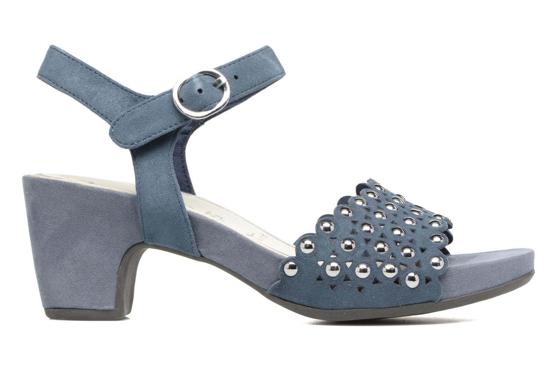 Sandales et nu-pieds Tamaris Olearia Bleu vue derrière