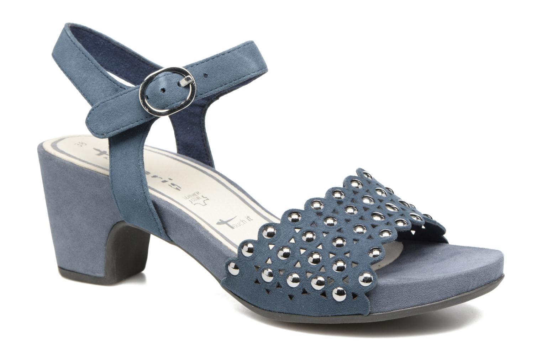 Sandales et nu-pieds Tamaris Olearia Bleu vue détail/paire