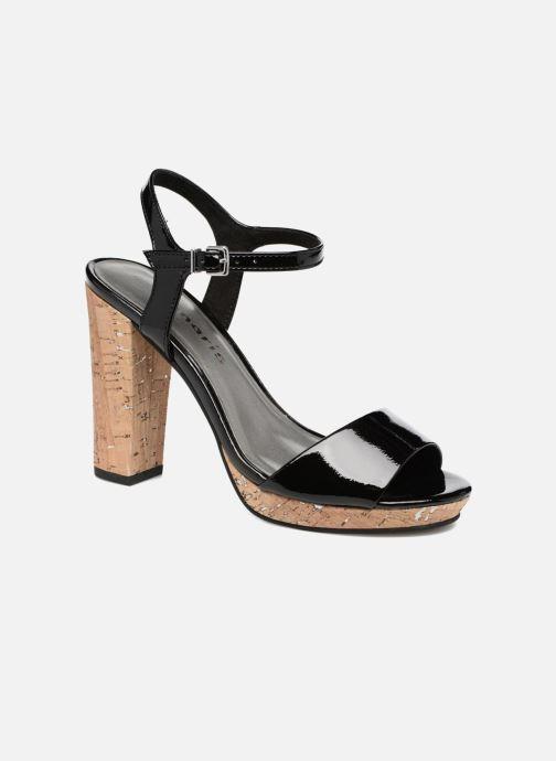 Sandales et nu-pieds Tamaris Espotoa Noir vue détail/paire