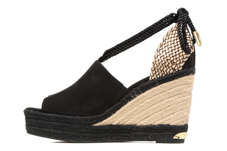 Sandales et nu-pieds Tamaris Yuzu Noir vue face