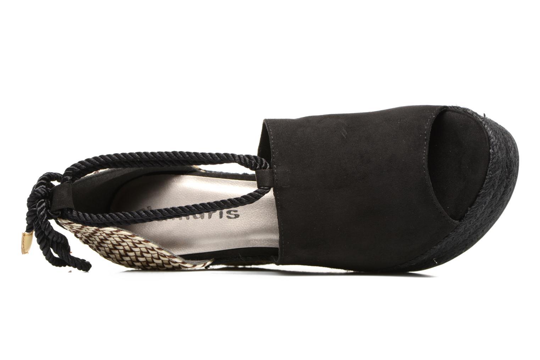 Sandales et nu-pieds Tamaris Yuzu Noir vue gauche