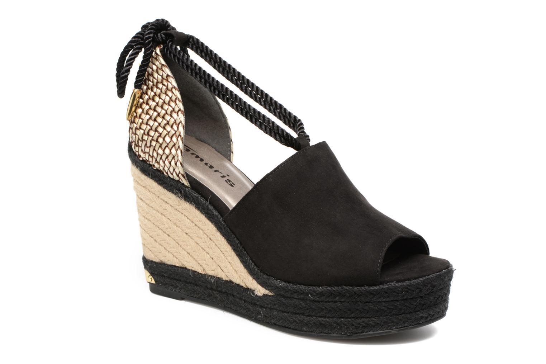 Sandales et nu-pieds Tamaris Yuzu Noir vue détail/paire