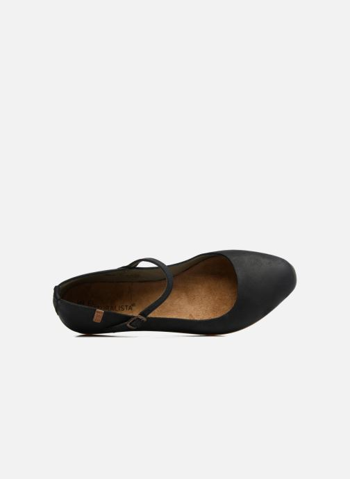 Ballet pumps El Naturalista Stella ND58 Black view from the left
