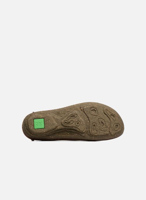 Ballet pumps El Naturalista Torcal N376 Brown view from above