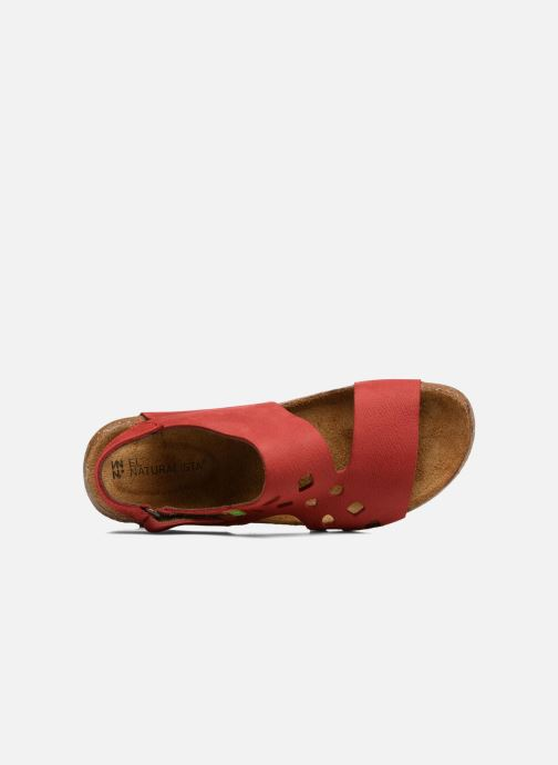 Sandales et nu-pieds El Naturalista Wakataua N5061 Rouge vue gauche