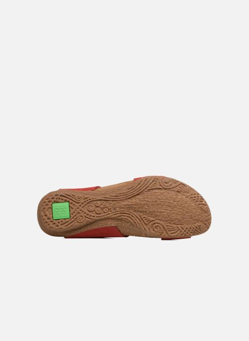 Sandales et nu-pieds El Naturalista Wakataua N5061 Rouge vue haut