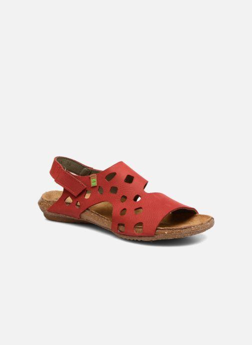 Sandales et nu-pieds El Naturalista Wakataua N5061 Rouge vue détail/paire