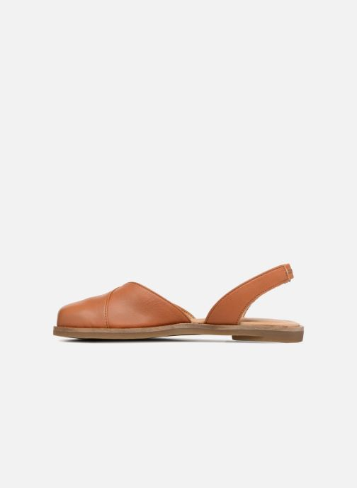 Sandals El Naturalista Tulip NF38 Brown front view