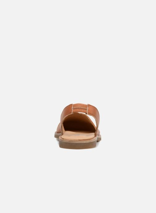 Sandals El Naturalista Tulip NF38 Brown view from the right