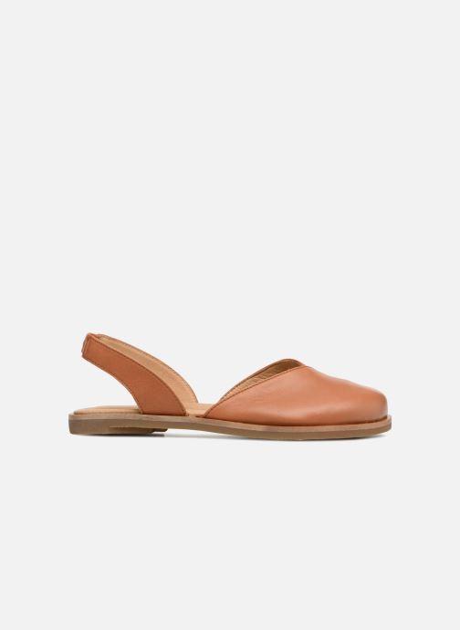 Sandales et nu-pieds El Naturalista Tulip NF38 Marron vue derrière