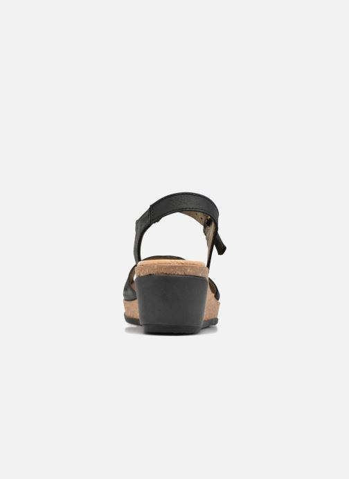 Sandales et nu-pieds El Naturalista Leaves N5000 Noir vue droite