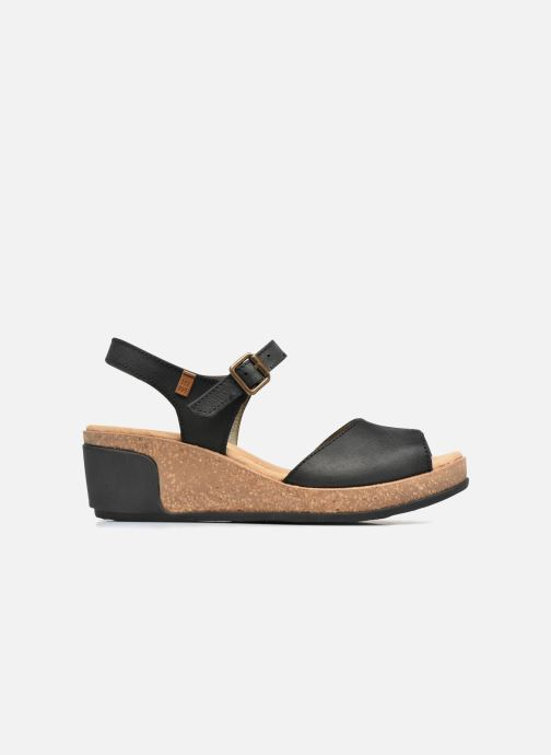 Sandales et nu-pieds El Naturalista Leaves N5000 Noir vue derrière