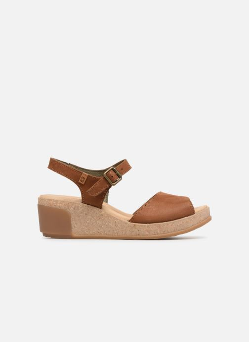 Sandales et nu-pieds El Naturalista Leaves N5000 Marron vue derrière