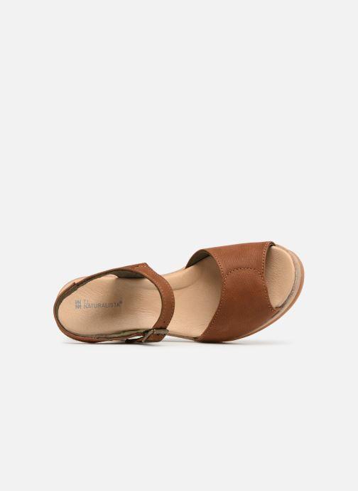 Sandales et nu-pieds El Naturalista Leaves N5000 Marron vue gauche