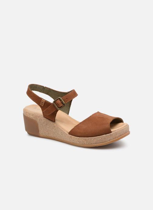 Sandales et nu-pieds El Naturalista Leaves N5000 Marron vue détail/paire