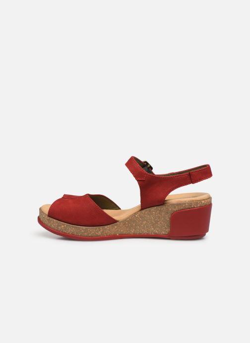 Sandales et nu-pieds El Naturalista Leaves N5000 Rouge vue face