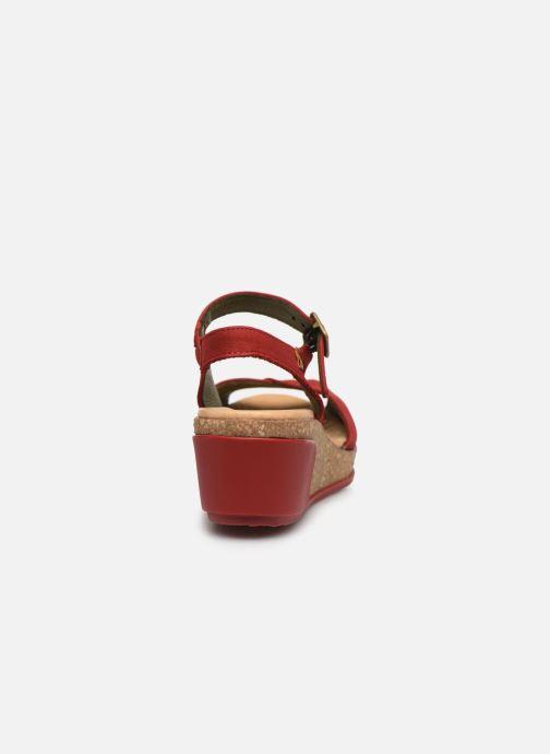 Sandales et nu-pieds El Naturalista Leaves N5000 Rouge vue droite