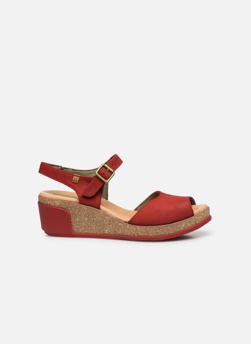 Sandales et nu-pieds El Naturalista Leaves N5000 Rouge vue derrière