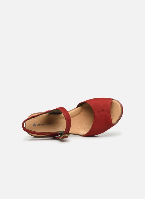 Sandales et nu-pieds El Naturalista Leaves N5000 Rouge vue gauche