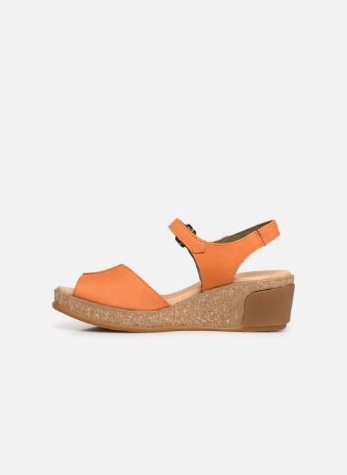 Sandals El Naturalista Leaves N5000 Orange front view