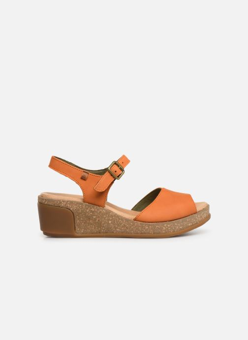 Sandals El Naturalista Leaves N5000 Orange back view