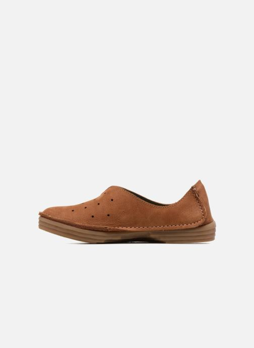Loafers El Naturalista Ricefield NF88 Brown front view
