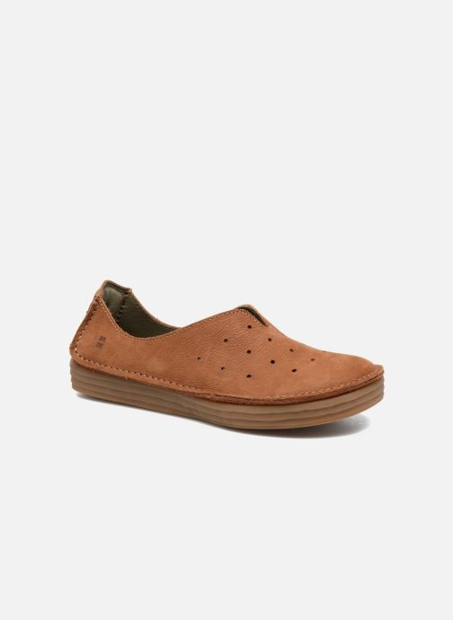 Loafers El Naturalista Ricefield NF88 Brown detailed view/ Pair view