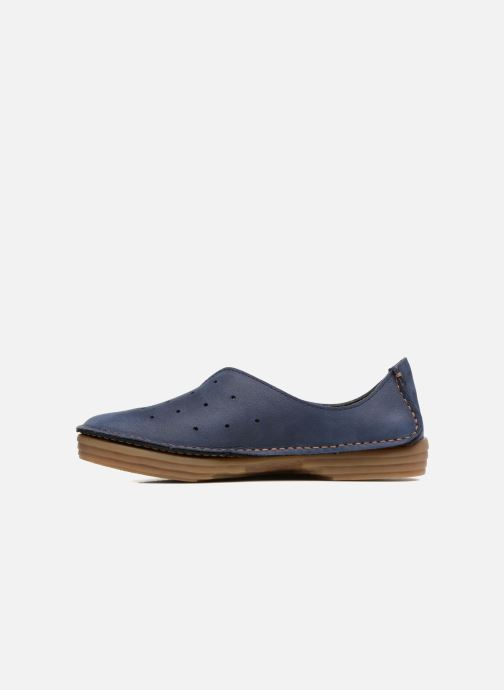 Loafers El Naturalista Ricefield NF88 Blue front view