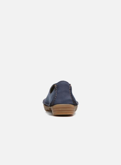Loafers El Naturalista Ricefield NF88 Blue view from the right