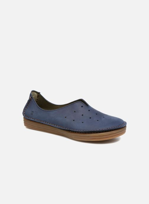Loafers El Naturalista Ricefield NF88 Blue detailed view/ Pair view