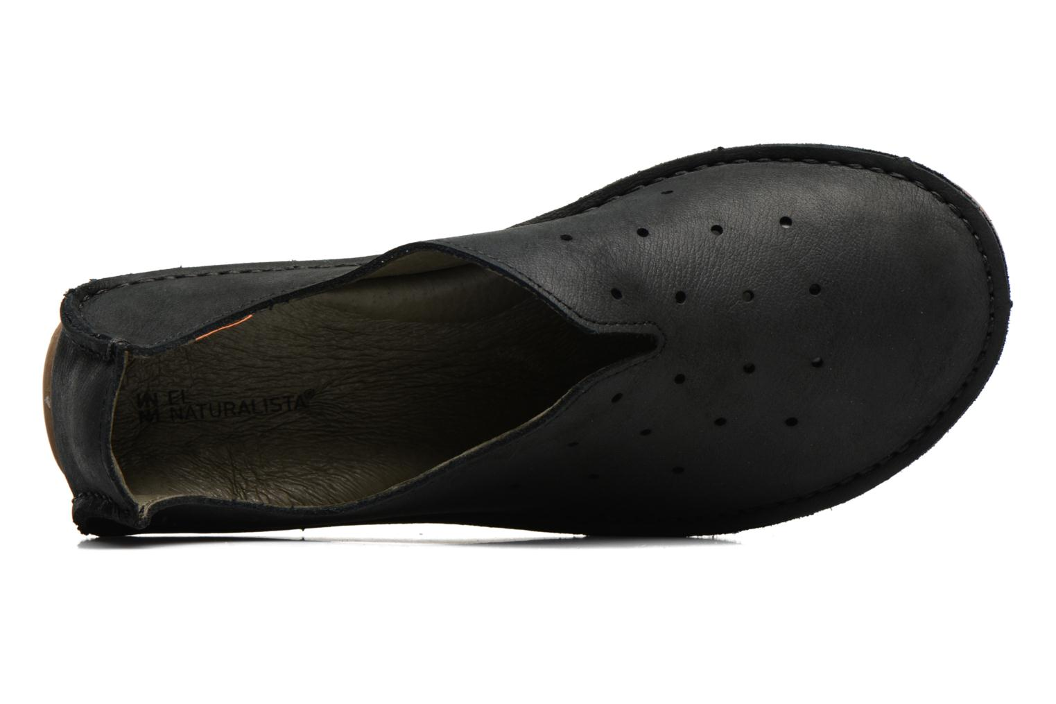 Loafers El Naturalista Ricefield NF88 Black view from the left