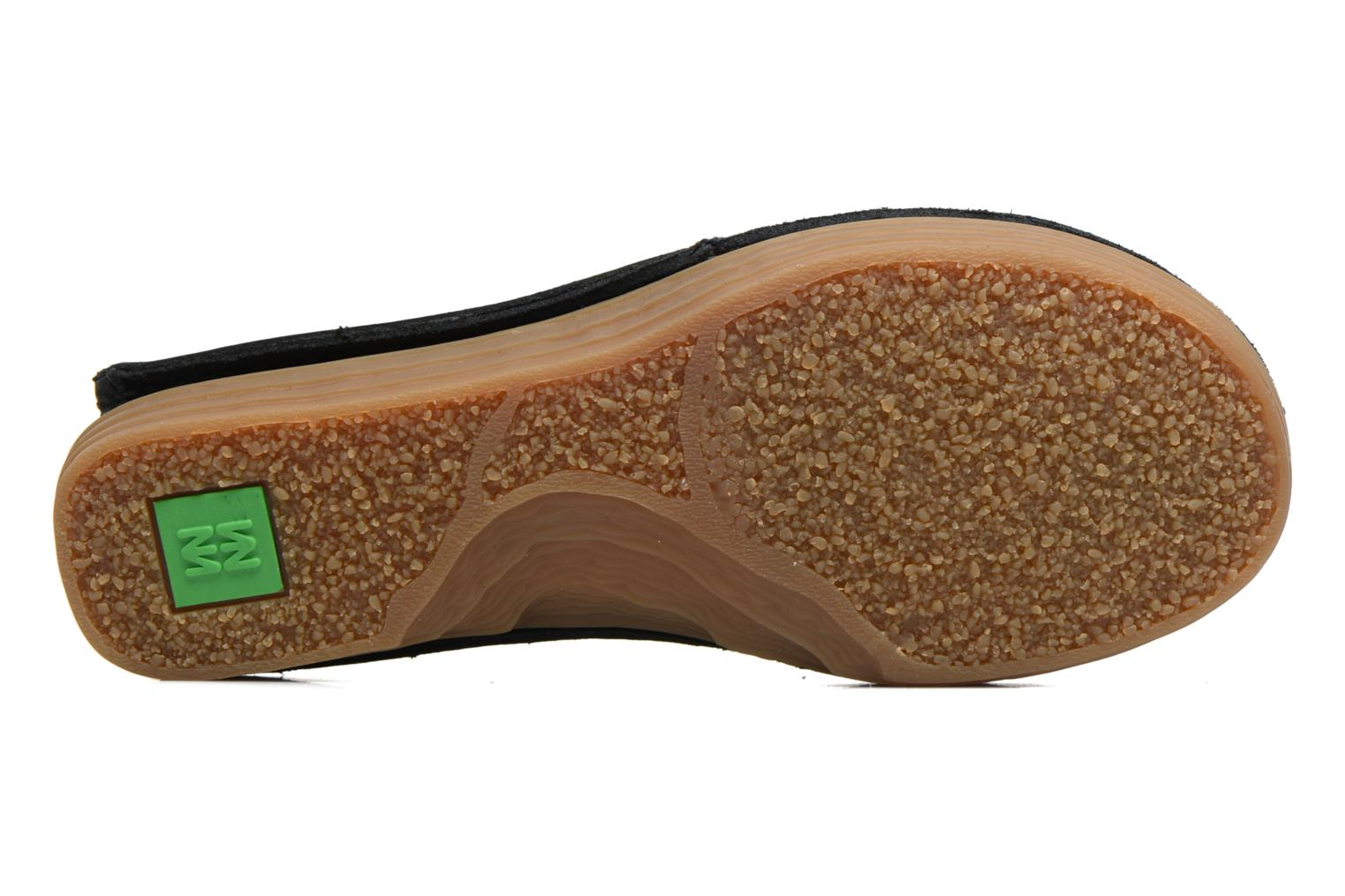 Loafers El Naturalista Ricefield NF88 Black view from above