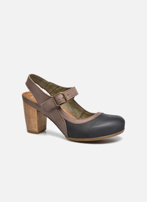 Sandales et nu-pieds El Naturalista Kuna N5021 Multicolore vue détail/paire