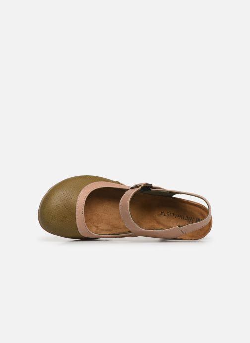 Sandales et nu-pieds El Naturalista Kuna N5021 Vert vue gauche