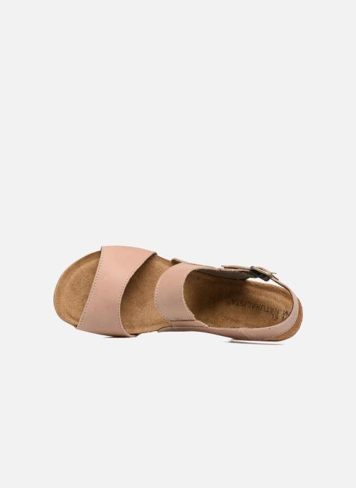 Sandales et nu-pieds El Naturalista Kuna N5020 Beige vue gauche