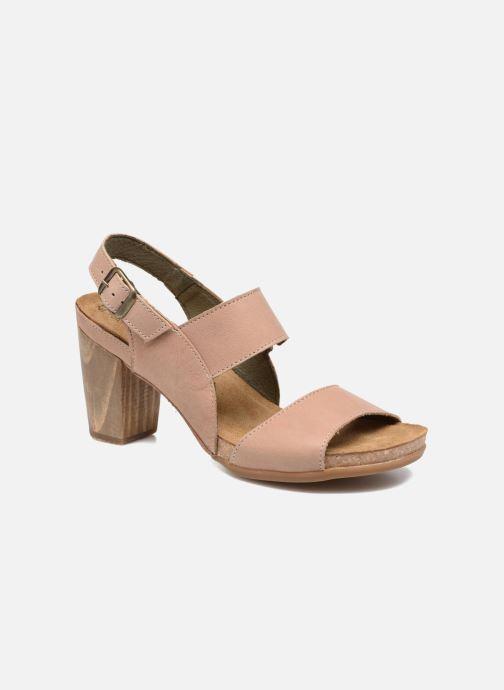 Sandales et nu-pieds El Naturalista Kuna N5020 Beige vue détail/paire
