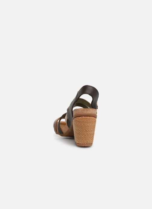 Sandals El Naturalista Mola N5030 Brown view from the right