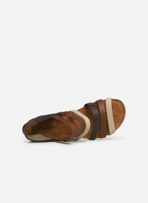 Sandals El Naturalista Mola N5030 Brown view from the left