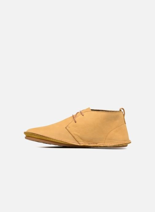 Lace-up shoes El Naturalista Ibiza NF55 Yellow front view