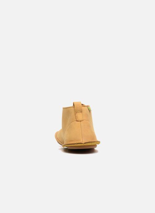 Scarpe con lacci El Naturalista Ibiza NF55 Giallo immagine destra