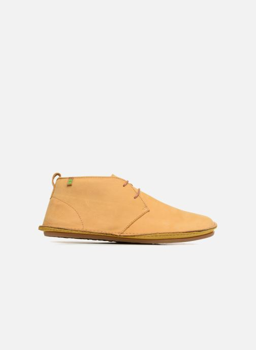 Lace-up shoes El Naturalista Ibiza NF55 Yellow back view