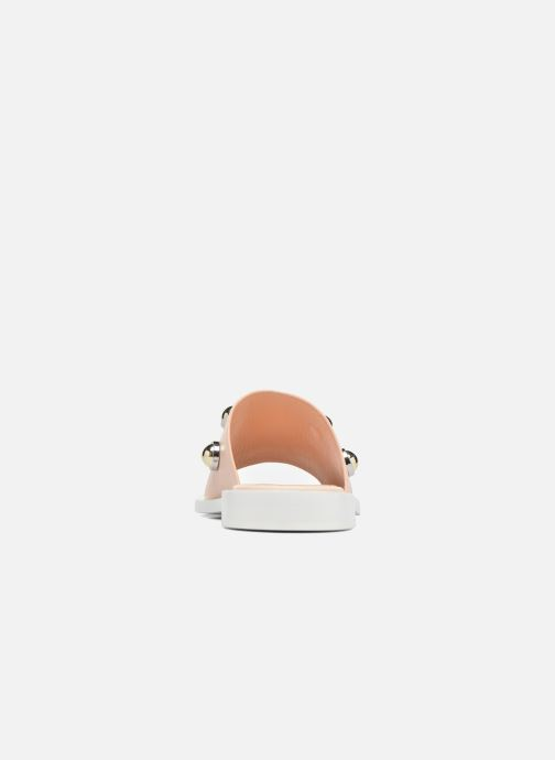 Mules & clogs Carven Resonance Mule Beige view from the right