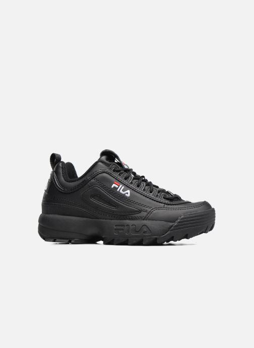 Sneakers FILA Disruptor Low W Zwart achterkant