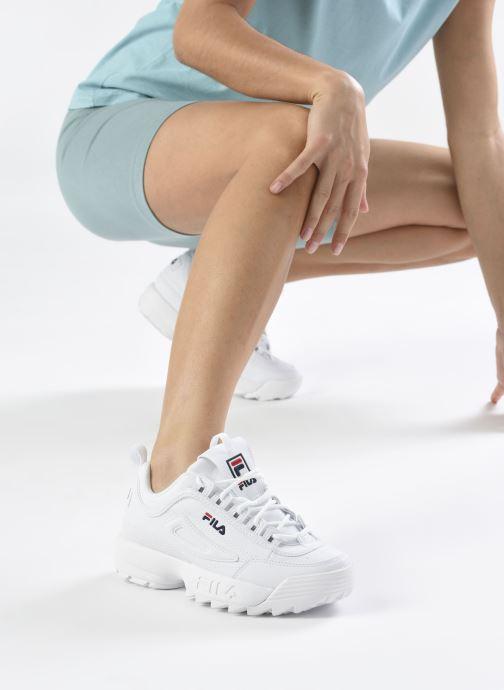 Sneakers FILA Disruptor Low W Wit onder